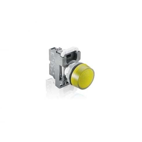 ABB Indicator Light Head Yellow
