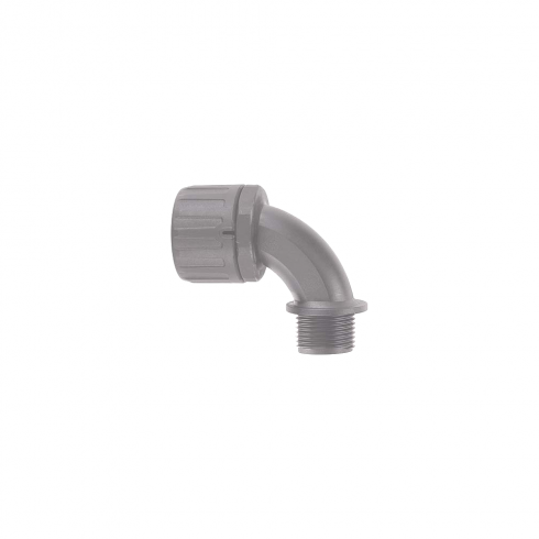 Flexicon Adaptor 90 M16 A/Lck Grey