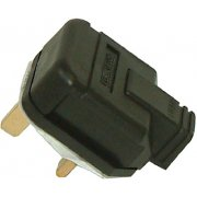 Masterplug Plug 13A Rubber Black