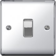 Nexus Switch 10A 1G Intermediate Polished Chrome