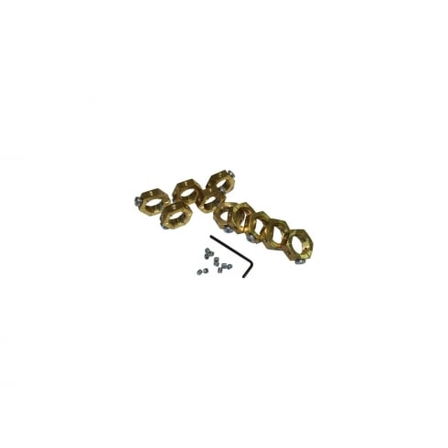 SWA Specialised Wiring Accessories Brass Earthing Nut 20 mm