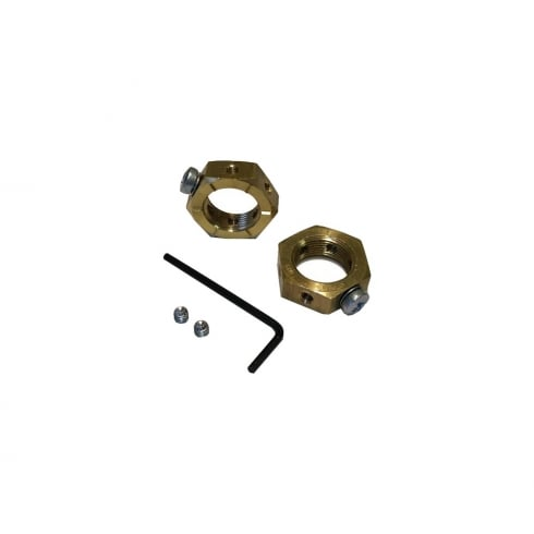 SWA Specialised Wiring Accessories Brass Earthing Nut 32 mm