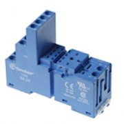 Relay Base 8 Pin Blue
