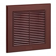 Fixed Grille 100 mm Brown