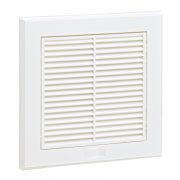 Fixed Grille 100 mm White