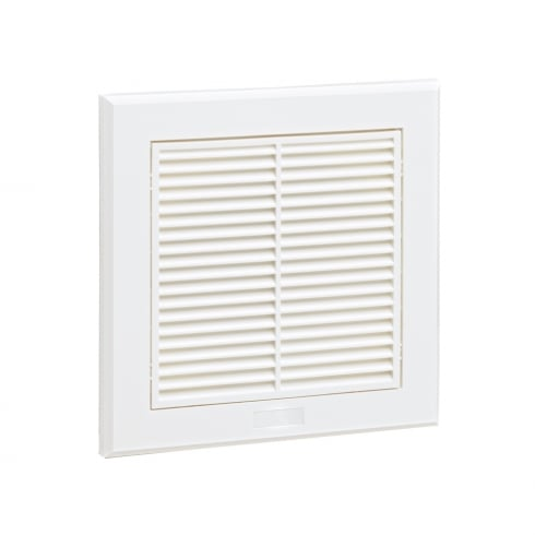 Fixed Grille 140 mm White