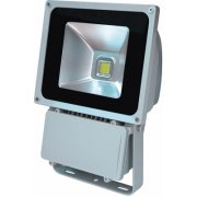 Floodlight 80W LED Grey