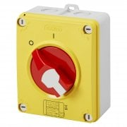 32A Emergency Enclosed Isolator IP66