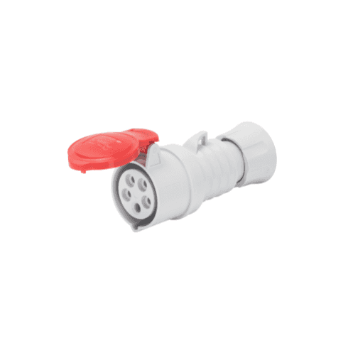 Gewiss 415V Straight Connector 4P + Earth 32A