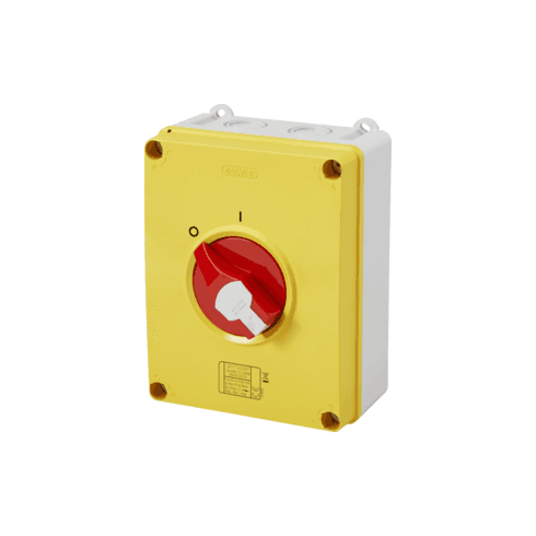 Gewiss 63A Emergency Enclosed Isolator IP66