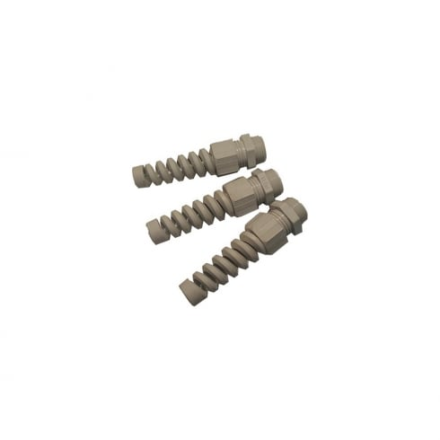 SWA Specialised Wiring Accessories Gland Washer Locknut Grey