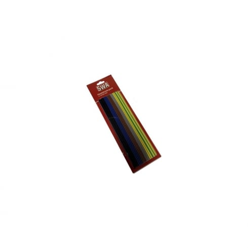 SWA Specialised Wiring Accessories Heat Shrink Assorted Harmonised Colours
