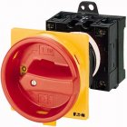 Isolator 25A 3P Base Mounting Red / Yellow
