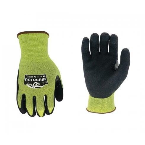 Other Brands OctoGrip 13 Gauge Anti-Cut Palmwick Nitrile Palm Glove (L)