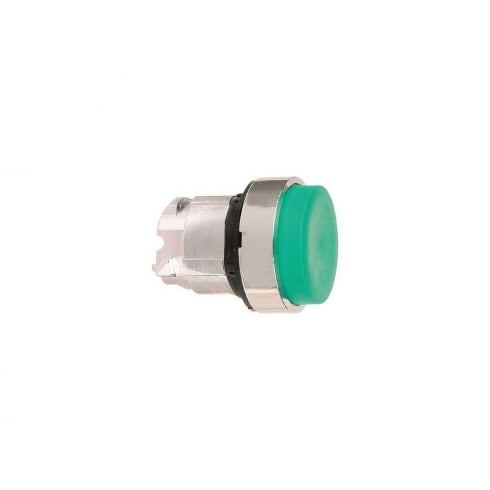Telemecanique, Schneider Push Button Head Projected Green