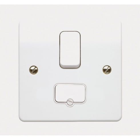 K330WHI MK Switch Fused Spur Flex Outlet