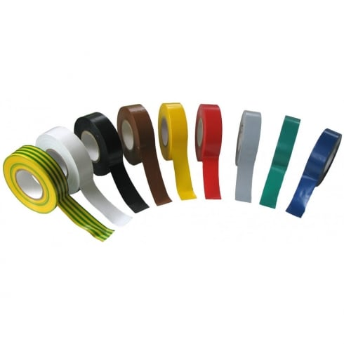SWA Specialised Wiring Accessories Tape PVC 19 mm x 33M Black