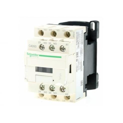 CAD50P7 - Schneider Telemecanique - Relay 5NO 230 VAC.