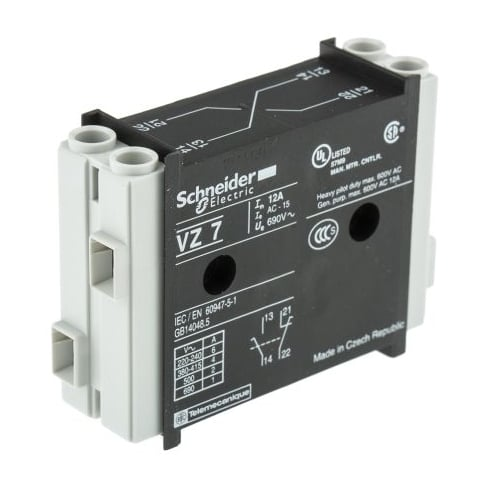 Telemecanique, Schneider Vario Auxiliary Contact Block 1NO + 1NC