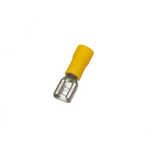 SWA Specialised Wiring Accessories Yellow Female Terminal