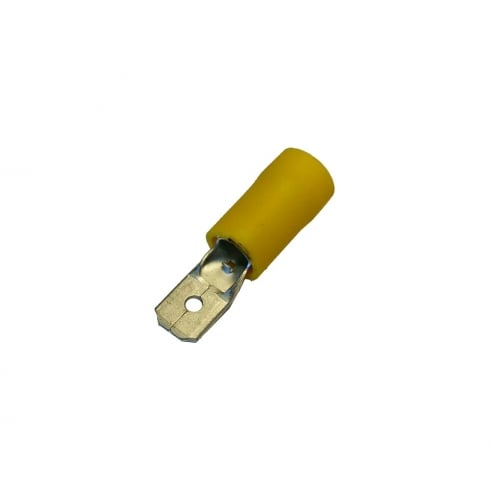 SWA Specialised Wiring Accessories Yellow Male Terminal